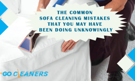 The common sofa cleaning mistakes that you may have been doing unknowingly