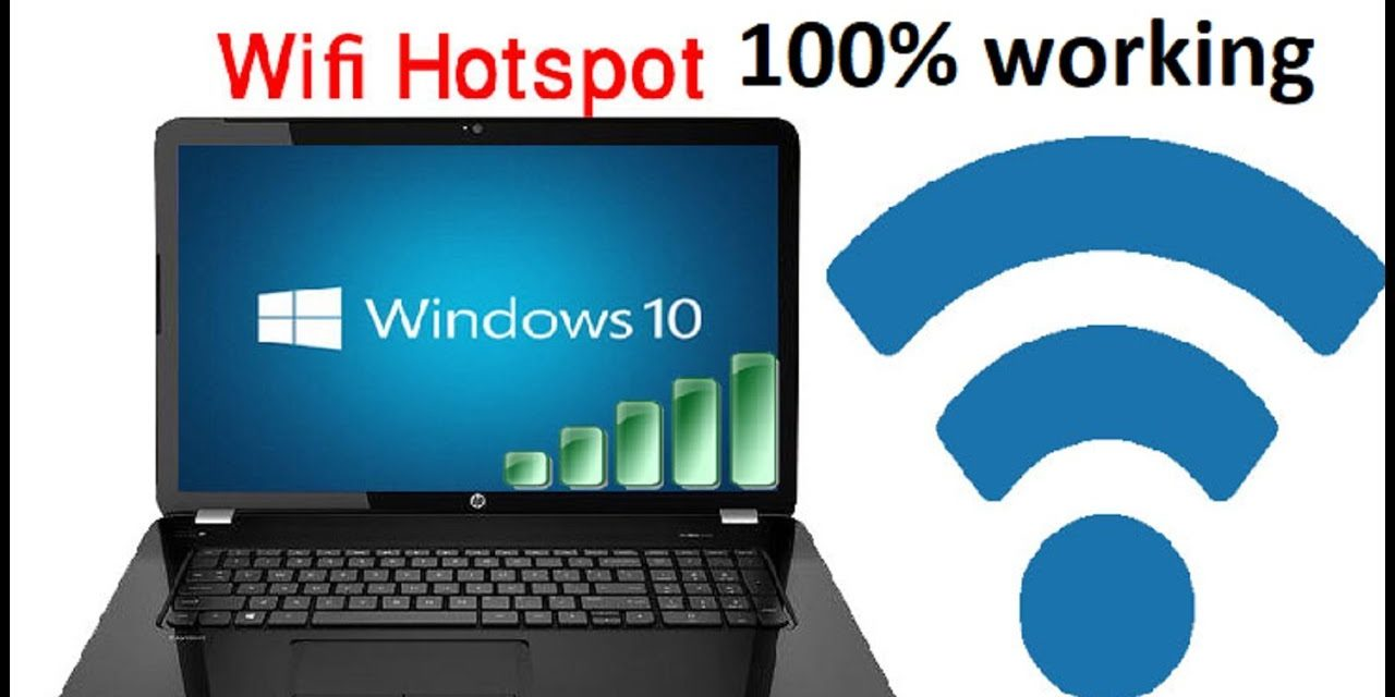 How to Create WiFi Hotspot on Windows Laptop without Using Any Software