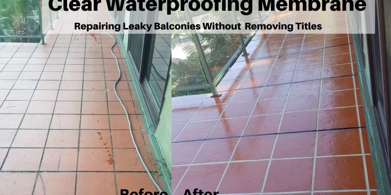 DIY Tips to Repair Your Leaky Balcony