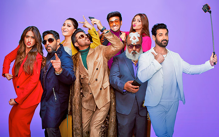 The Anees Bazmee directorial, PAGALPANTI fails to raise the desired amount of laughs due to lazy writing, recycled jokes and inappropriate direction.
