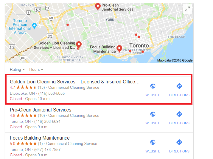 How to get Google My Business location anywhere